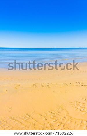 Landscape Paradise Day - stock photo