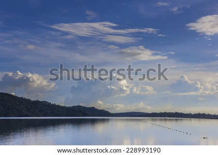 landscaper sky - stock photo
