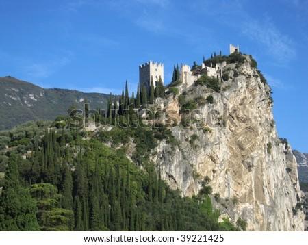 landscapes series - Riva del garda - Italy - stock photo