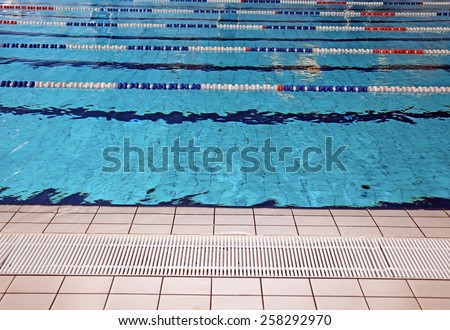 "Olympic Swimming Pool Lanes ""olympic swimming pool"" stock photos, royalty-free"