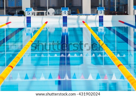 Olympic Swimming Pool Lanes olympic pool stock images, royalty-free images & vectors