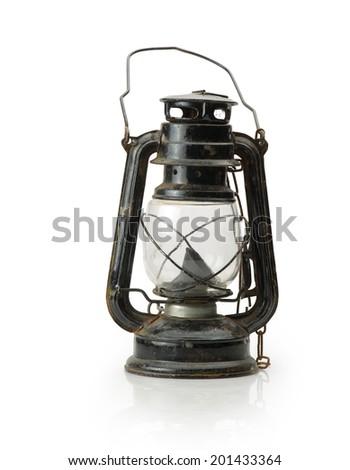 Lantern isolated / Ramadan Lamp concept - stock photo