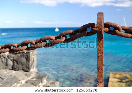Lanzarote on Spain. - stock photo