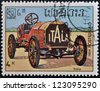 LAOS - CIRCA 1984: A stamp printed in Laos showing vintage car, Itala, circa 1984 - stock photo