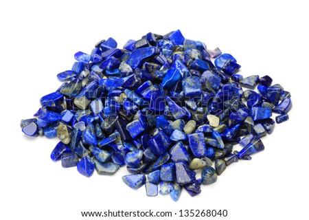 lapis lazuli - stock photo