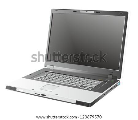 laptop - stock photo