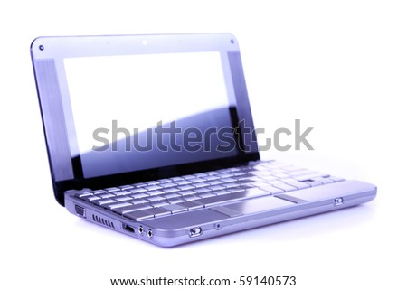 Laptop and business concept closeup