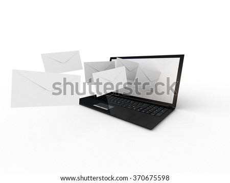 Laptop and fly envelopes