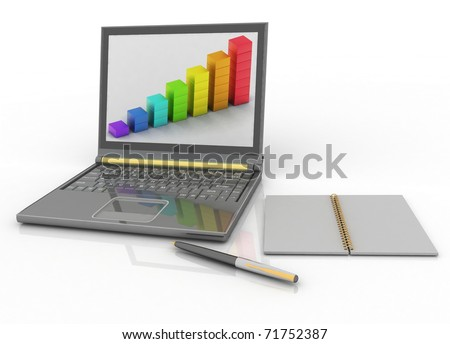 laptop and others tools for work