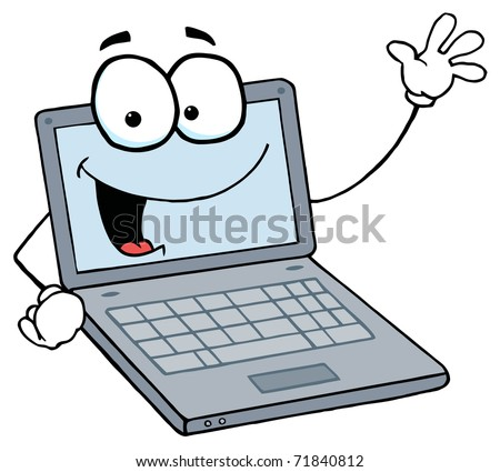 Computer Cartoons Stock Images Royalty Free Images