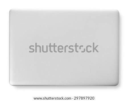 Laptop closed - stock photo