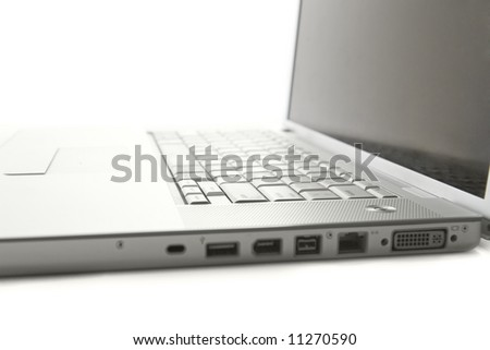 Laptop computer. - stock photo