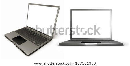 laptop in different angles