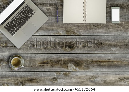 Wooden Desk Top Stock Photos, Royalty-Free Images & Vectors ...