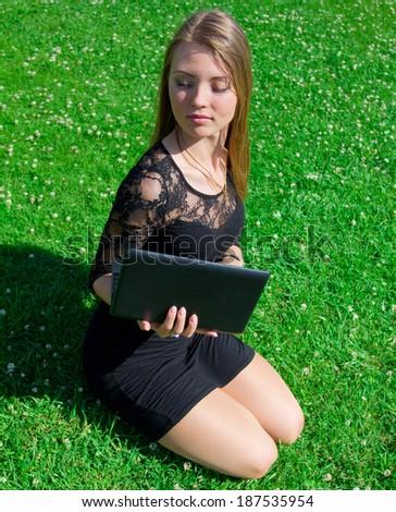 Laptop Professional Business  - stock photo