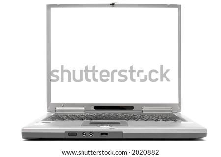 Laptop w/ Empty Space - stock photo