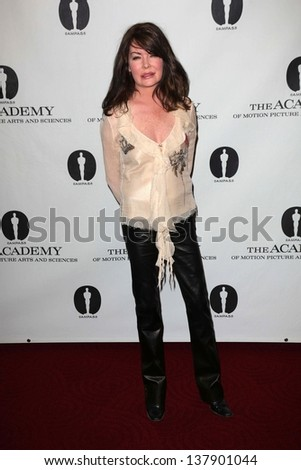 """Lara Flynn Boyle at the Academy Of Motion Picture Arts And Sciences Hosts A """"Wayne's World"""" Reunion,  AMPAS Samuel Goldwyn Theater, Beverly Hills, CA 04-23-13 - stock photo"""