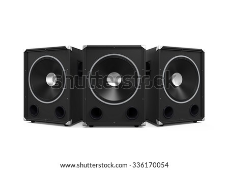 Large Audio Speakers