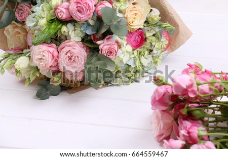 Large bouquet of mixes