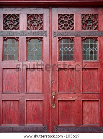 Large Church Doors
