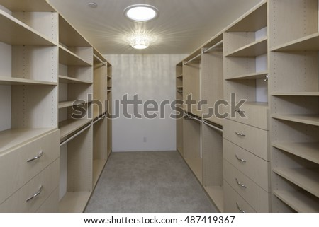 Large Closet walk in closet stock images, royalty-free images & vectors