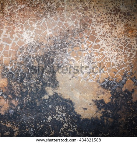 Large cracked stone wall background. Cracked stone wall texture. Old wall texture grunge background. - stock photo