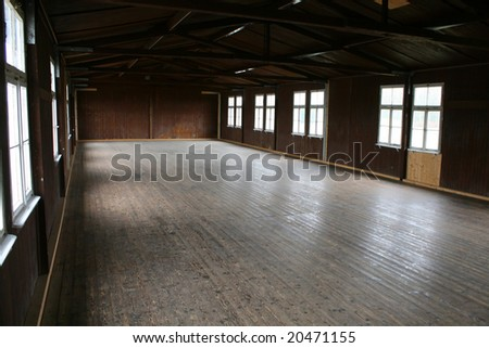 large empty hall, room, lots of space