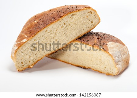 large loaves of bread traditionally roasted