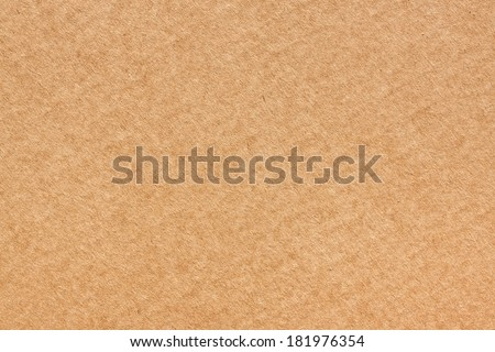 Large piece of brown card board texture background - stock photo