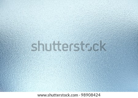 large sheet of shiny silver or tin foil - stock photo