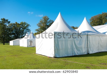 large white tent for large events