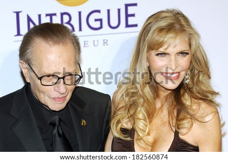 Larry King at Clive Davis Pre-Grammy Party, Beverly Hilton Hotel, Los Angeles, CA, February 09, 2008 - stock photo
