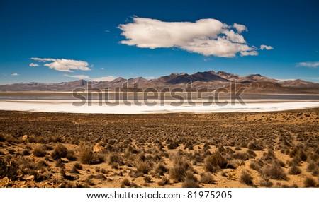 Las Salinas - stock photo