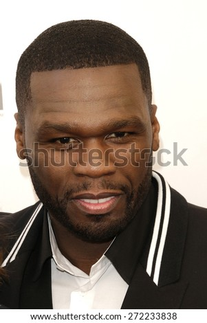 LAS VEGAS - APR 23: Curtis '50 Cent' Jackson at the Twentieth Century Fox 2015 Presentation at Cinemacon at Caesars Palace on April 23, 2015 in Las Vegas, NV - stock photo