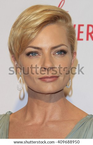 LAS VEGAS - APR 15:  Jaime Pressly at the  23rd Annual Race To Erase MS Gala at the Beverly Hilton Hotel on April 15, 2016 in Beverly Hills, CA