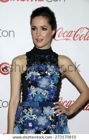 LAS VEGAS - APR 23:  Rose Byrne at the CinemaCon Big Screen Achievement Awards at the Caesars Palace on April 23, 2015 in Las Vegas, NV