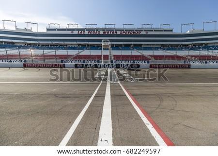 Nascar track stock images royalty free images vectors for Las vegas motor speedway transportation