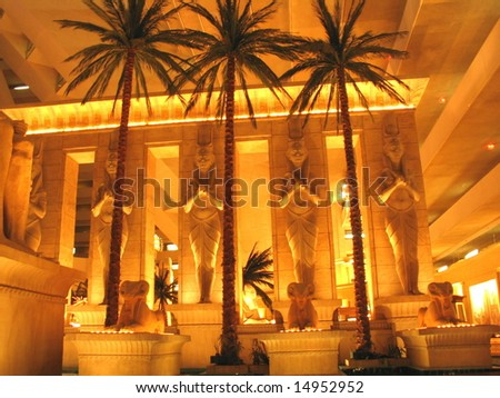 Las Vegas Hotel - stock photo