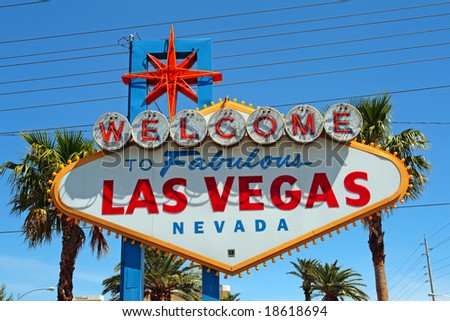 Las Vegas is the most populous city in the state of Nevada - stock photo