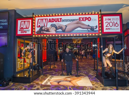 LAS VEGAS - JAN 23 : The 2016 AVN Adult Entertainment Expo at the Hard Rock Hotel & Casino on January 23, 2016 in Las Vegas.