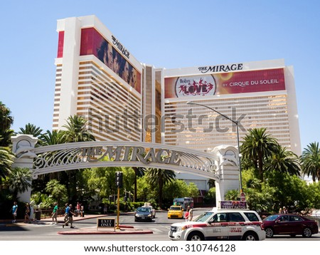LAS VEGAS JULY,2015 MIRAGE Casino and Hotel