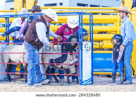 Las Vegas May 16 Children Participating In A Mutton