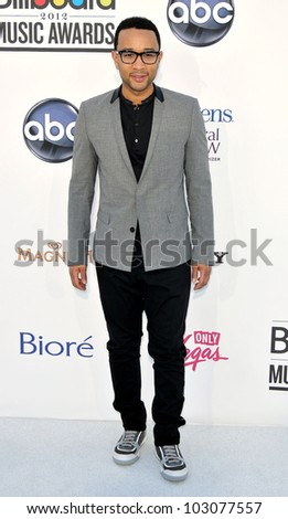 LAS VEGAS - MAY 20:  John Legend arrives at the 2012 Billboard Awards at MGM Garden Arena on May 20, 2012 in Las Vegas, NV