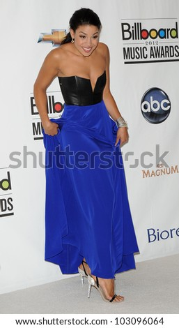 LAS VEGAS - MAY 20:  Jordin Sparks in the Press Room at the 2012 Billboard Awards at MGM Garden Arena on May 20, 2012 in Las Vegas, NV