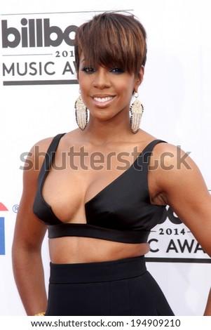 LAS VEGAS - MAY 18:  Kelly Rowland at the 2014 Billboard Awards at MGM Grand Garden Arena on May 18, 2014 in Las Vegas, NV - stock photo