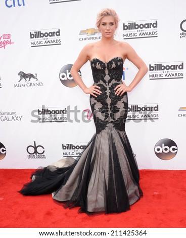 LAS VEGAS - MAY 18:  Kesha arrives to the Billboard Music Awards 2014  on May 18, 2014 in Las Vegas, NV.                 - stock photo