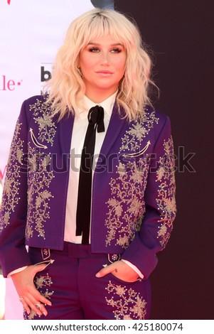 LAS VEGAS - MAY 22:  Kesha at the Billboard Music Awards 2016 at the T-Mobile Arena on May 22, 2016 in Las Vegas, NV - stock photo