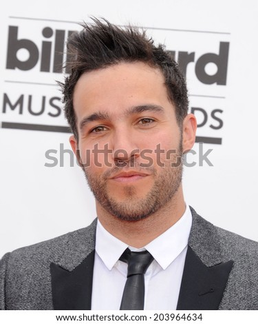 LAS VEGAS - MAY 18:  Pete Wentz arrives to the Billboard Music Awards 2014  on May 18, 2014 in Las Vegas, NY                 - stock photo