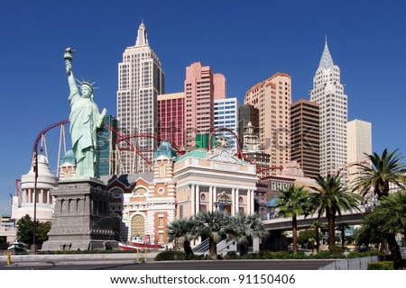 Las Vegas, New York New York - stock photo