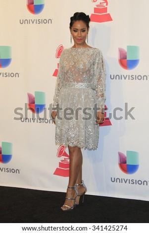 LAS VEGAS - NOV 19:  Jada Pinkett Smith at the 16th Latin GRAMMY Awards at the MGM Grand Garden Arena on November 19, 2015 in Las Vegas, NV - stock photo